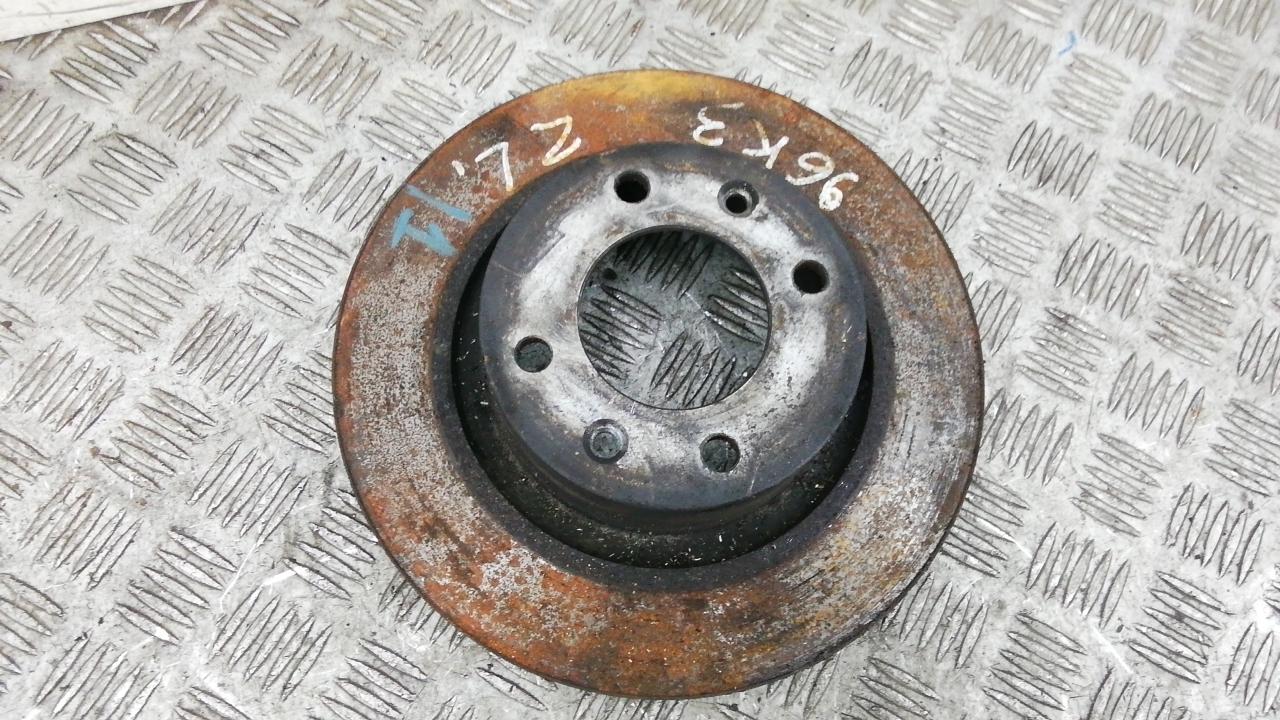 Диск тормозной задний, CITROEN, C5 1, 2007