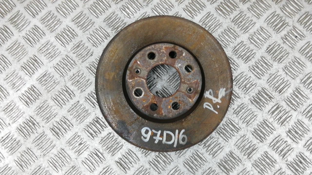 Диск тормозной передний, FIAT, GRANDE PUNTO, 2008