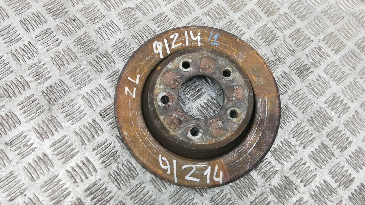 Диск тормозной задний, MAZDA, 3 1, 2004