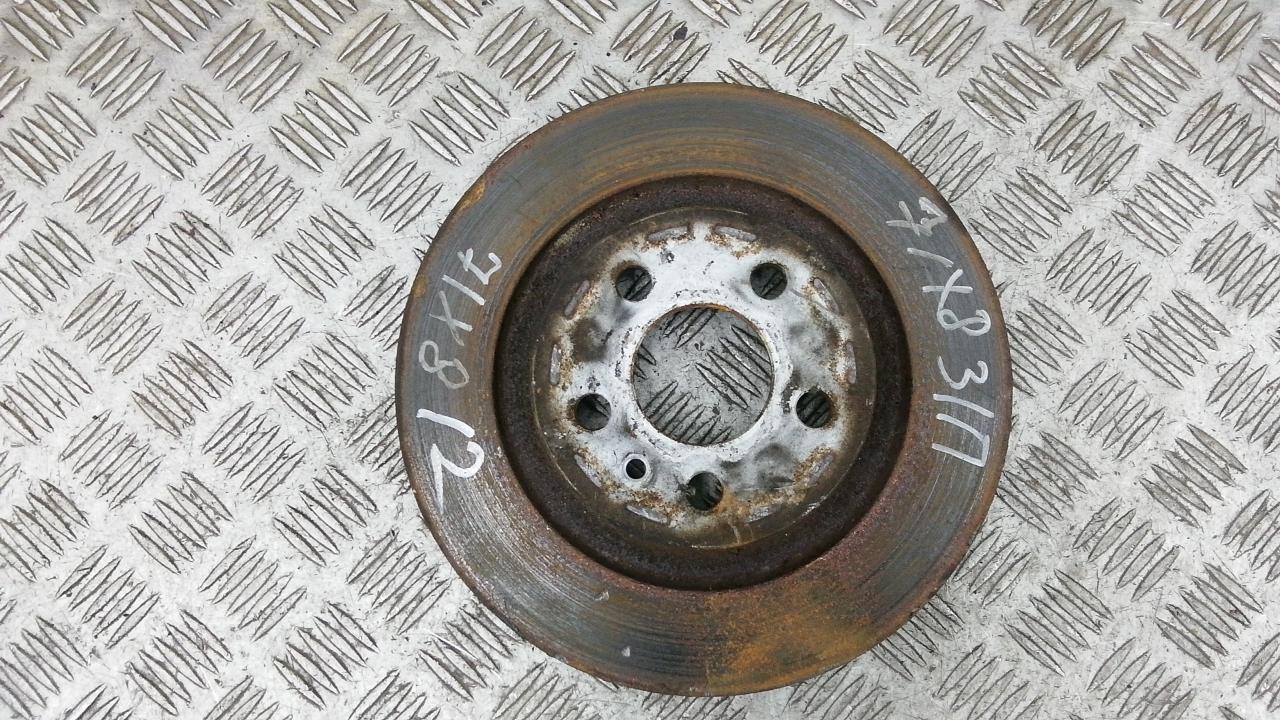 Диск тормозной задний, CITROEN, C8, 2008