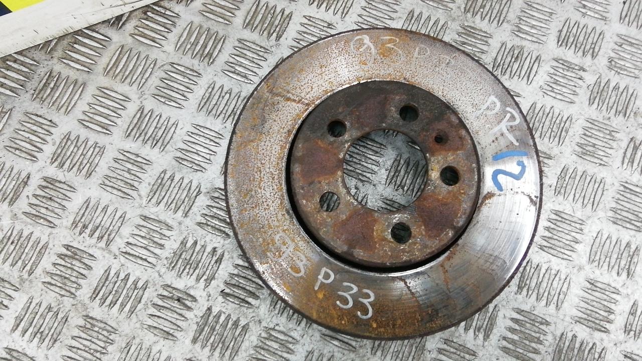 Диск тормозной передний, SEAT, IBIZA 4, 2009