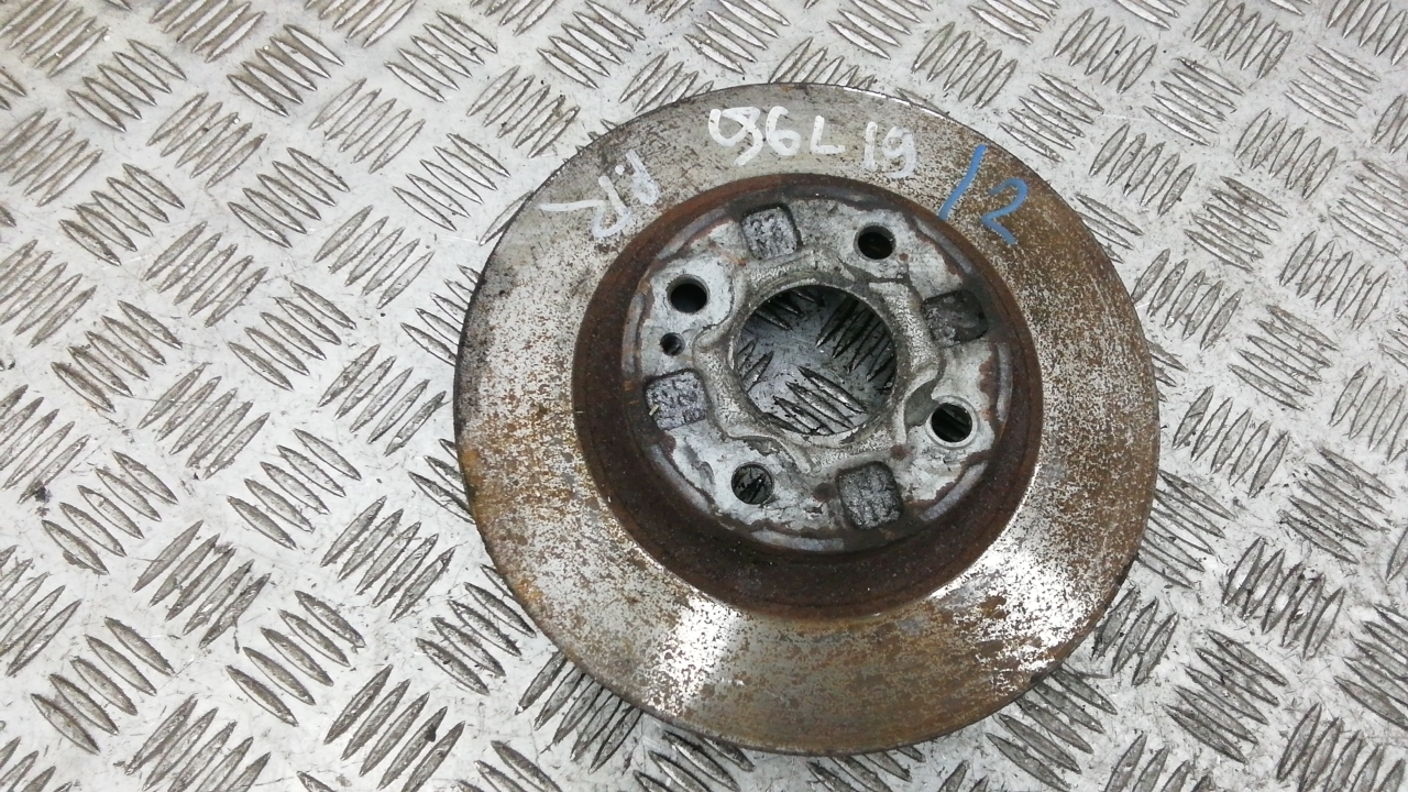 Диск тормозной передний, MAZDA, 323 BJ, 2000