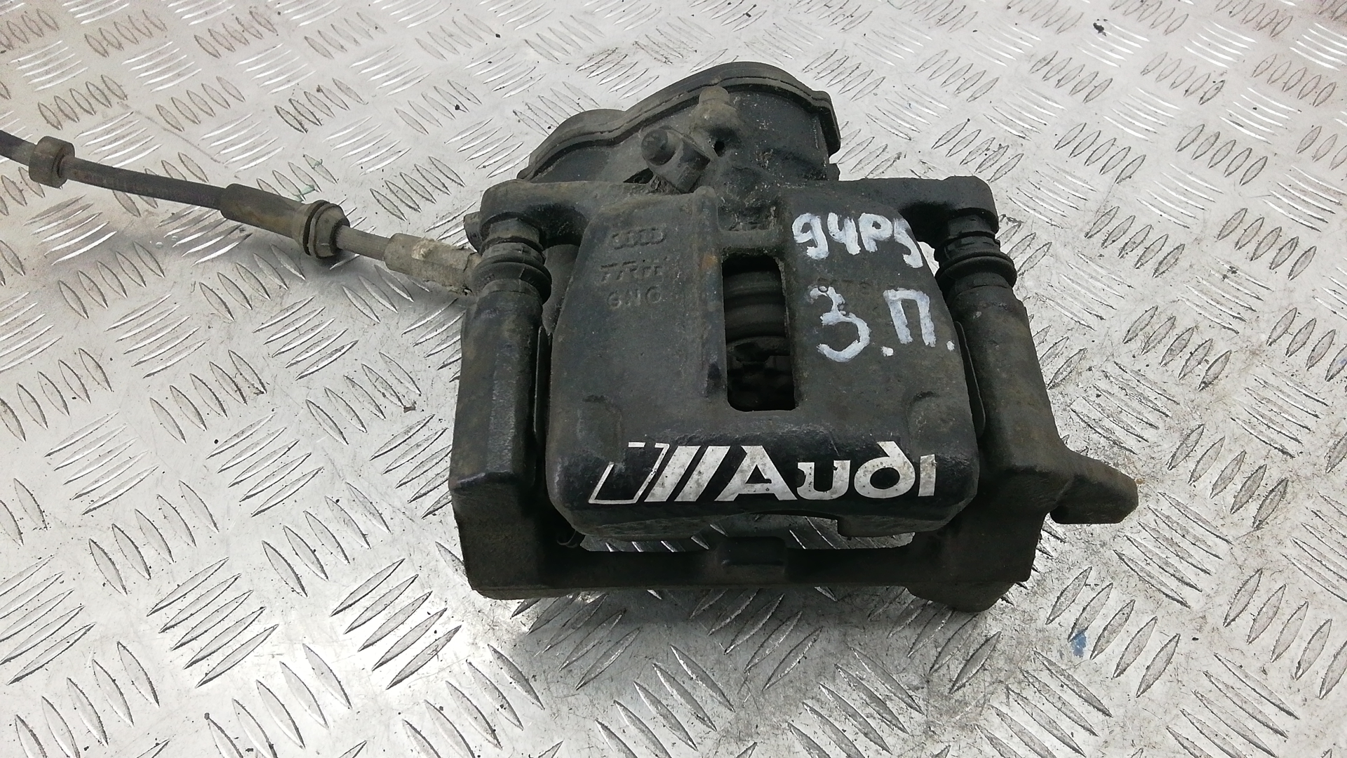 Суппорт тормозной задний правый, AUDI, A7 1, 2013