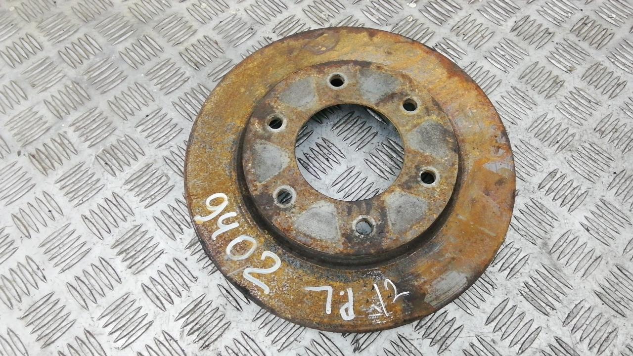 Диск тормозной передний, MITSUBISHI, L200 K4T, 2011