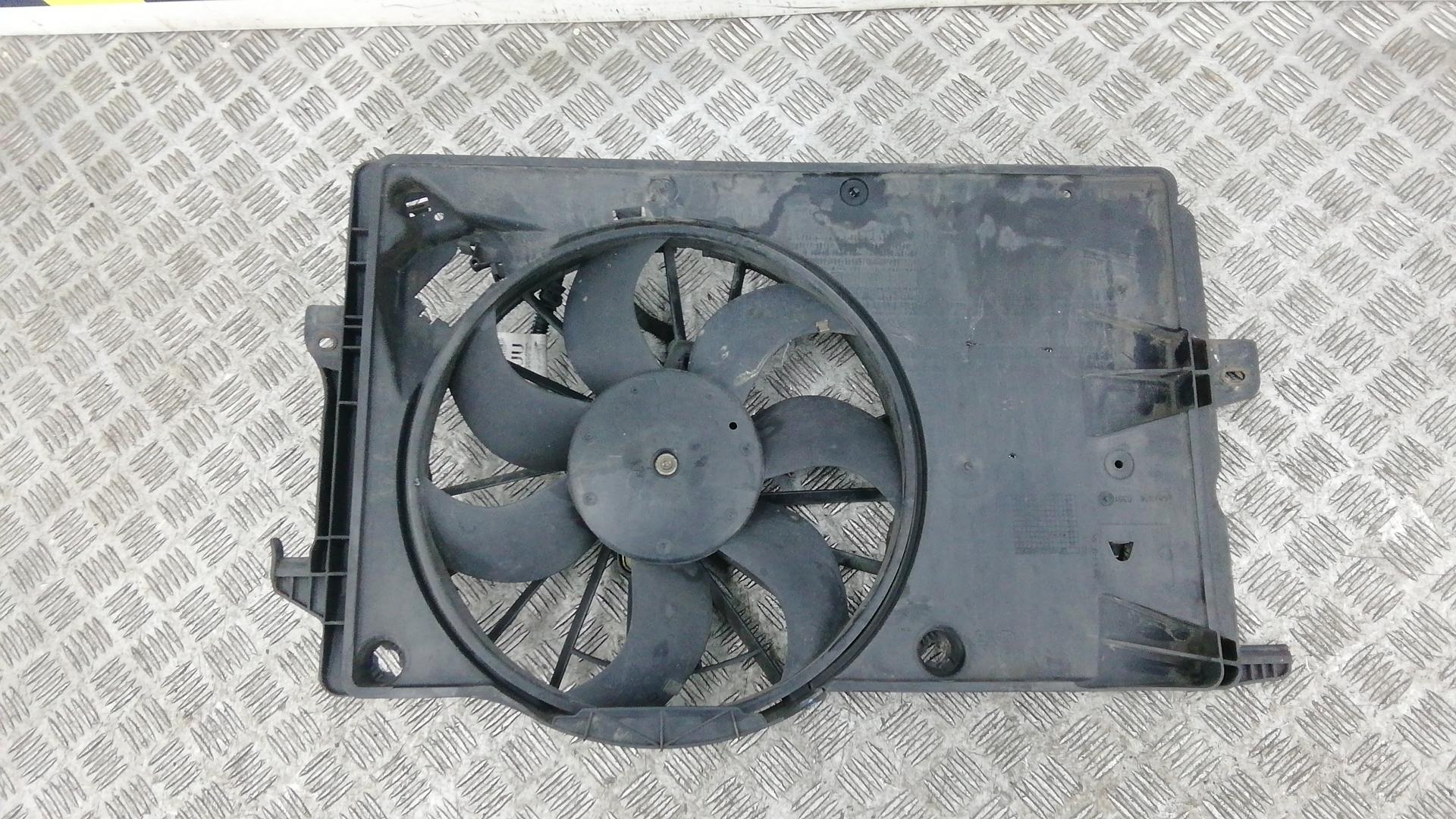 Вентилятор радиатора, OPEL, MERIVA A, 2004
