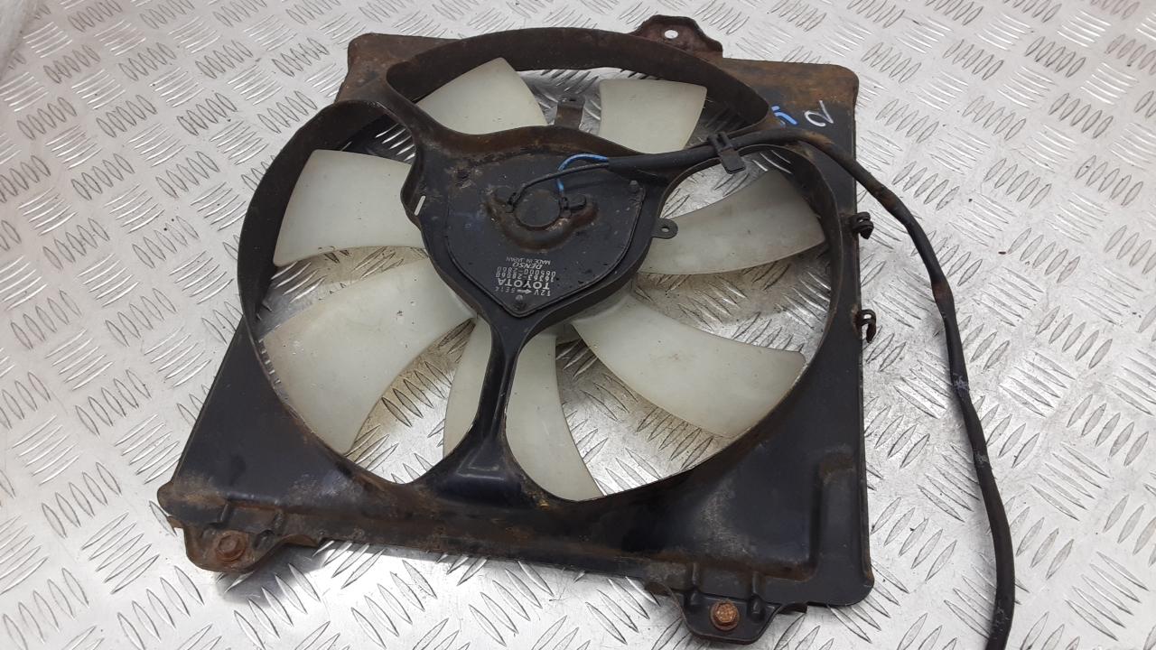 Вентилятор радиатора, TOYOTA, RAV 4 ZCA2, 2003