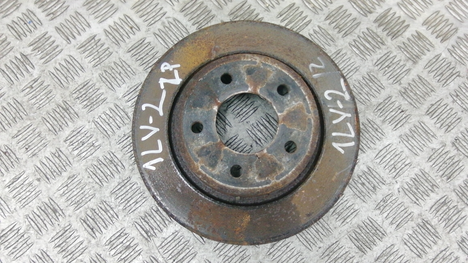 Диск тормозной задний, MAZDA, 3 2, 2010