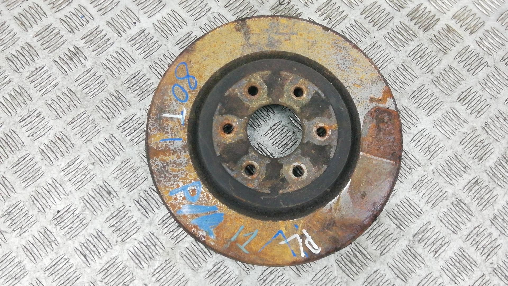 Диск тормозной передний, NISSAN, NAVARA D40, 2010