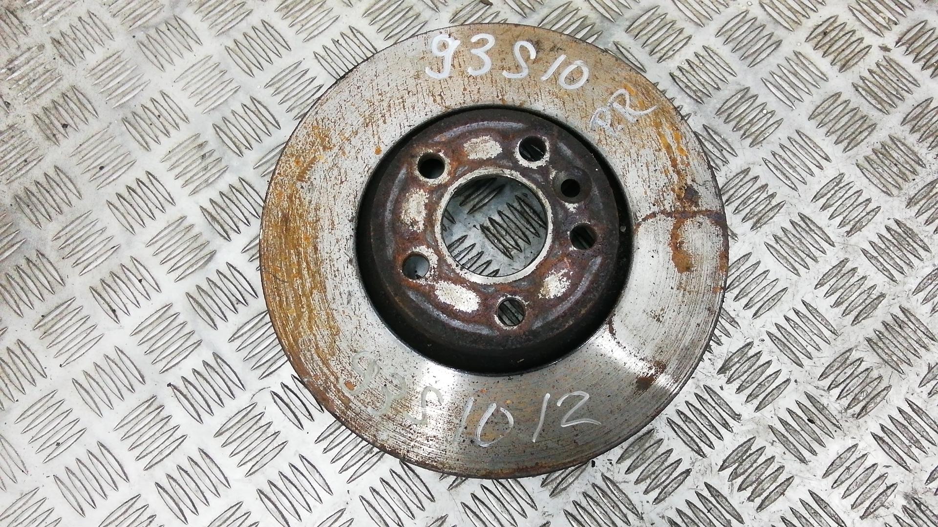 Диск тормозной передний, FORD, MONDEO 4, 2008