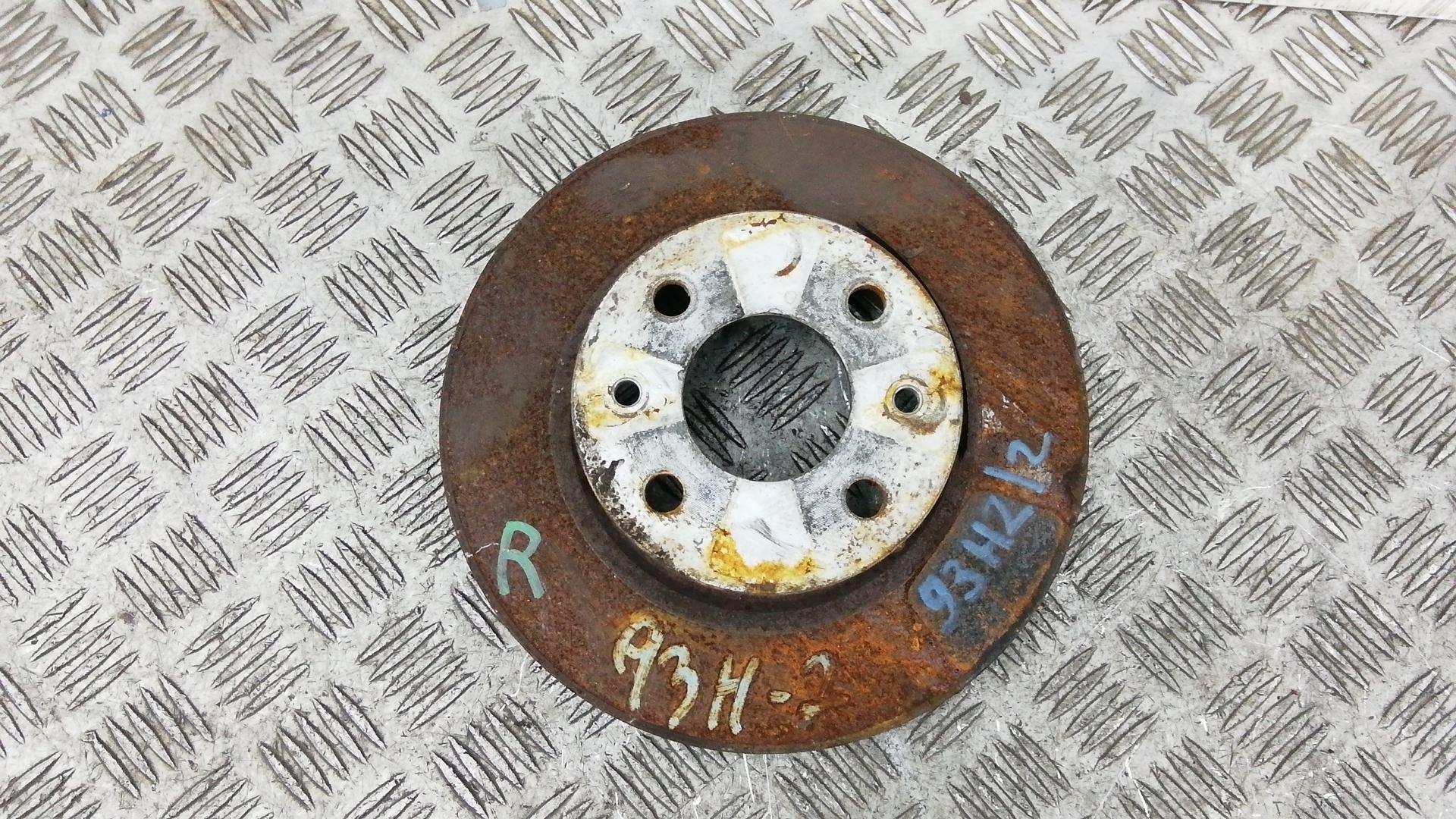 Диск тормозной задний, FIAT, BRAVO 2, 2008