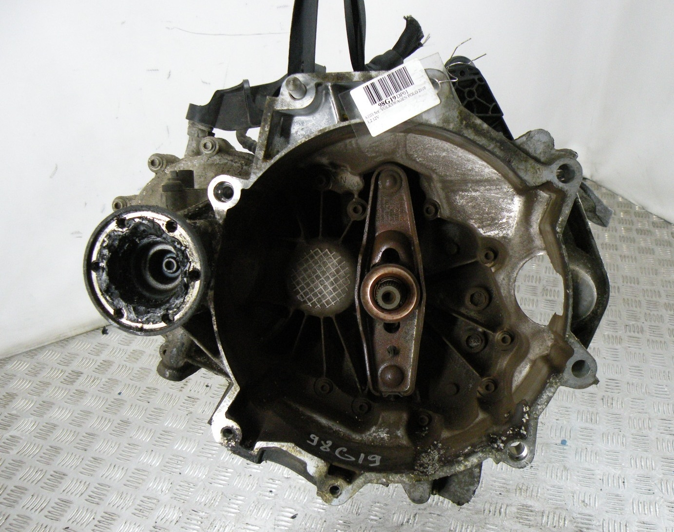 КПП 5ст., VOLKSWAGEN, POLO 5 (6R), 2010