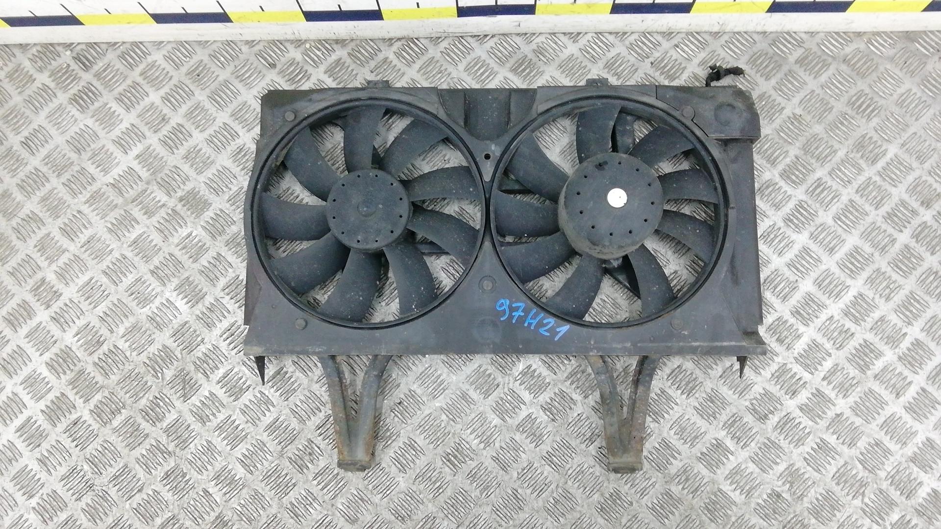 Вентилятор радиатора, MERCEDES BENZ, E-CLASS W210, 1999