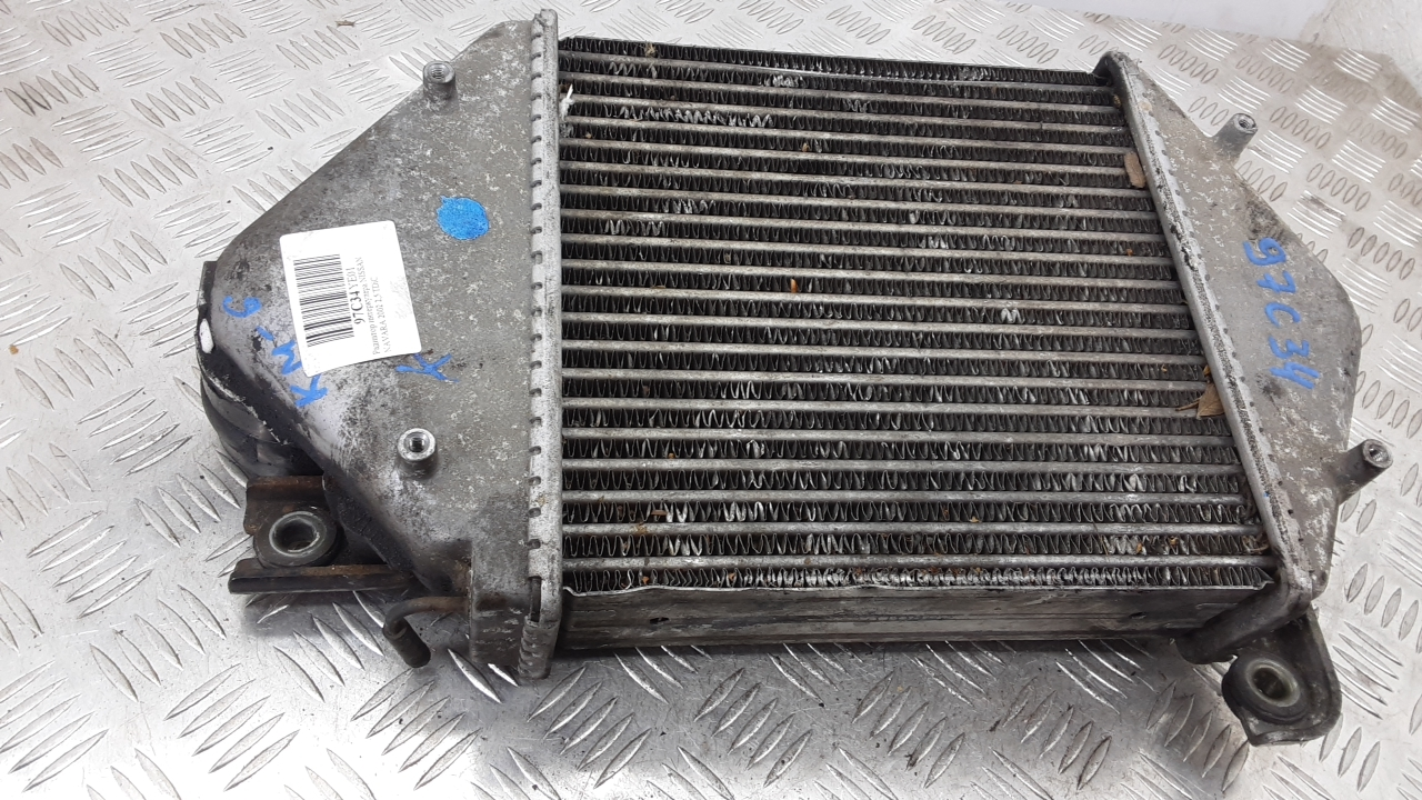 Радиатор интеркулера, NISSAN, NAVARA D22, 2002