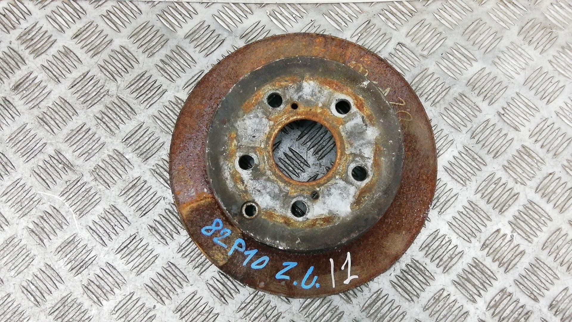 Диск тормозной задний, TOYOTA, COROLLA VERSO 2, 2007
