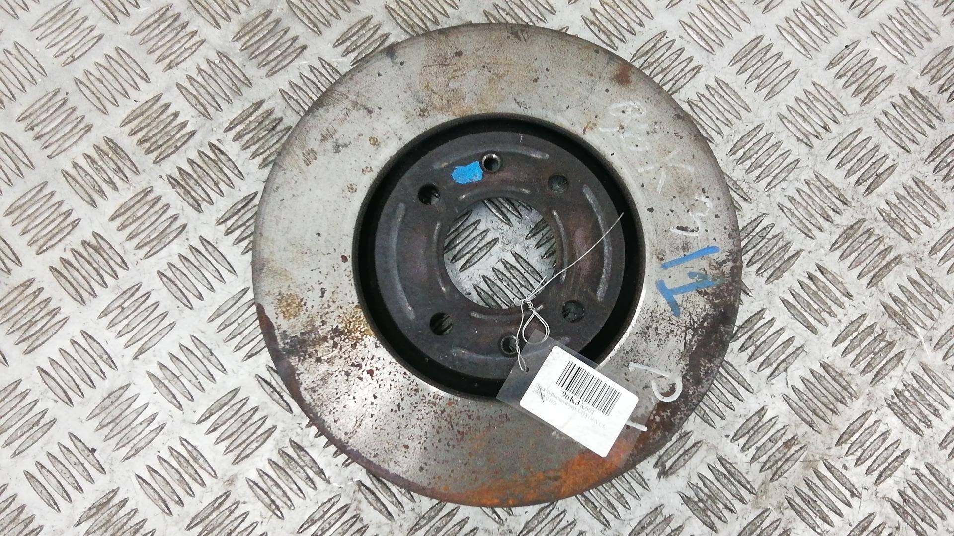 Диск тормозной передний, CITROEN, C5 1, 2007
