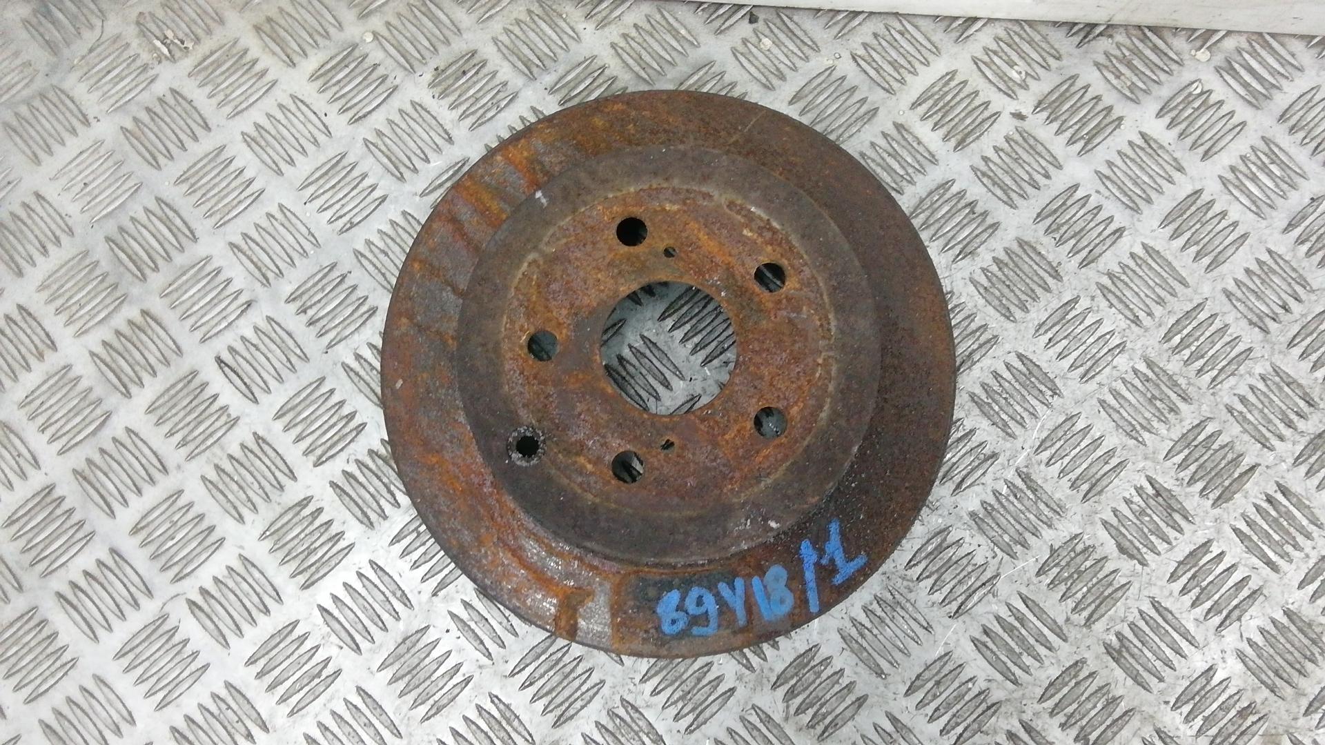 Диск тормозной задний, TOYOTA, COROLLA VERSO 2, 2005