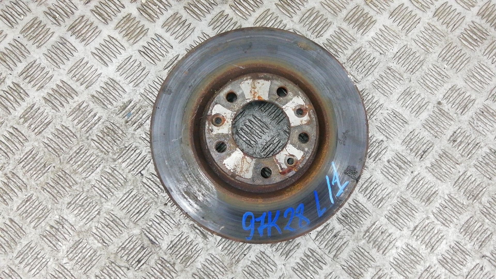 Диск тормозной передний, PEUGEOT, 607, 2004