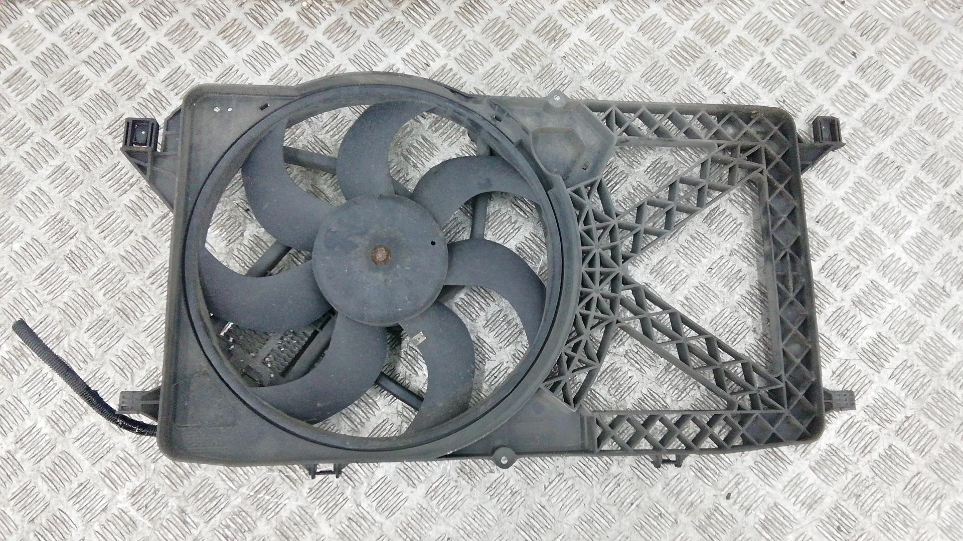 Вентилятор радиатора, FORD, TRANSIT 7, 2009