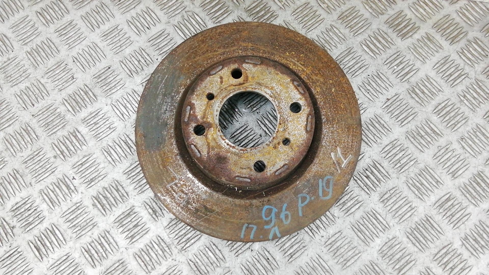 Диск тормозной передний, NISSAN, PRIMERA P11, 2001