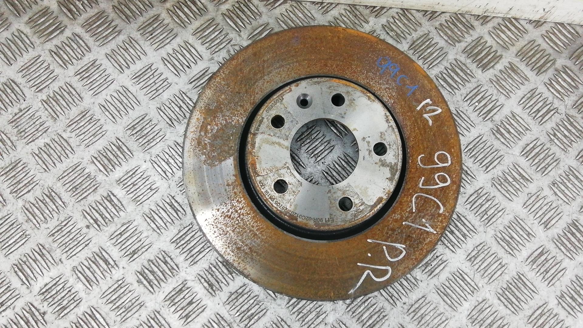 Диск тормозной передний, CHEVROLET, CRUZE J300, 2009