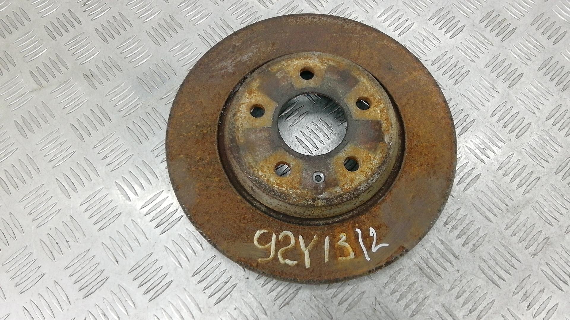 Диск тормозной задний, AUDI, A6 C7, 2012