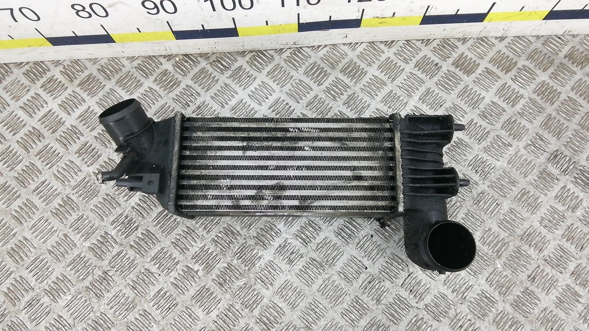 Радиатор интеркуллера, PEUGEOT, 607, 2004