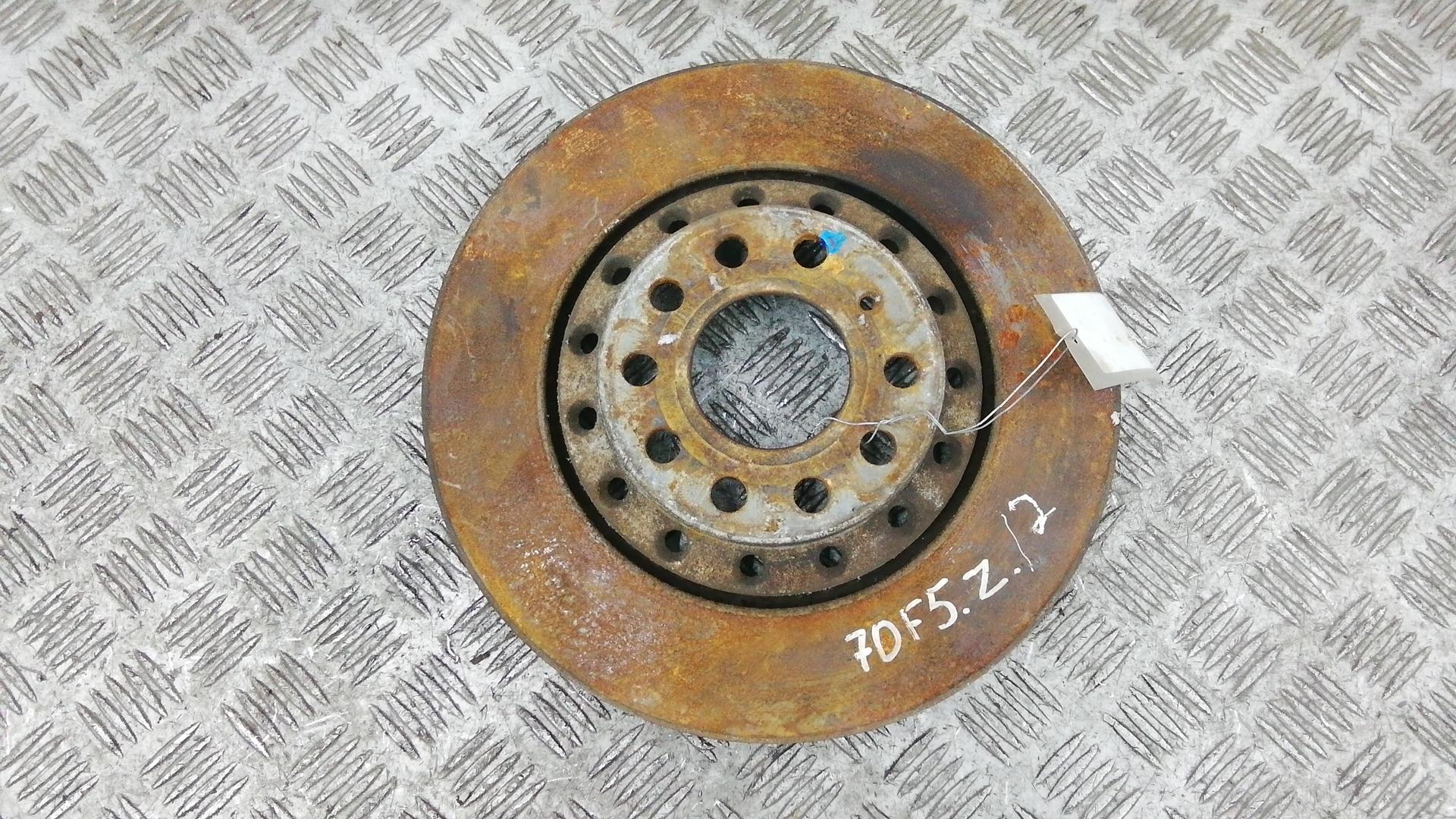 Диск тормозной задний, AUDI, A8 D3, 2007