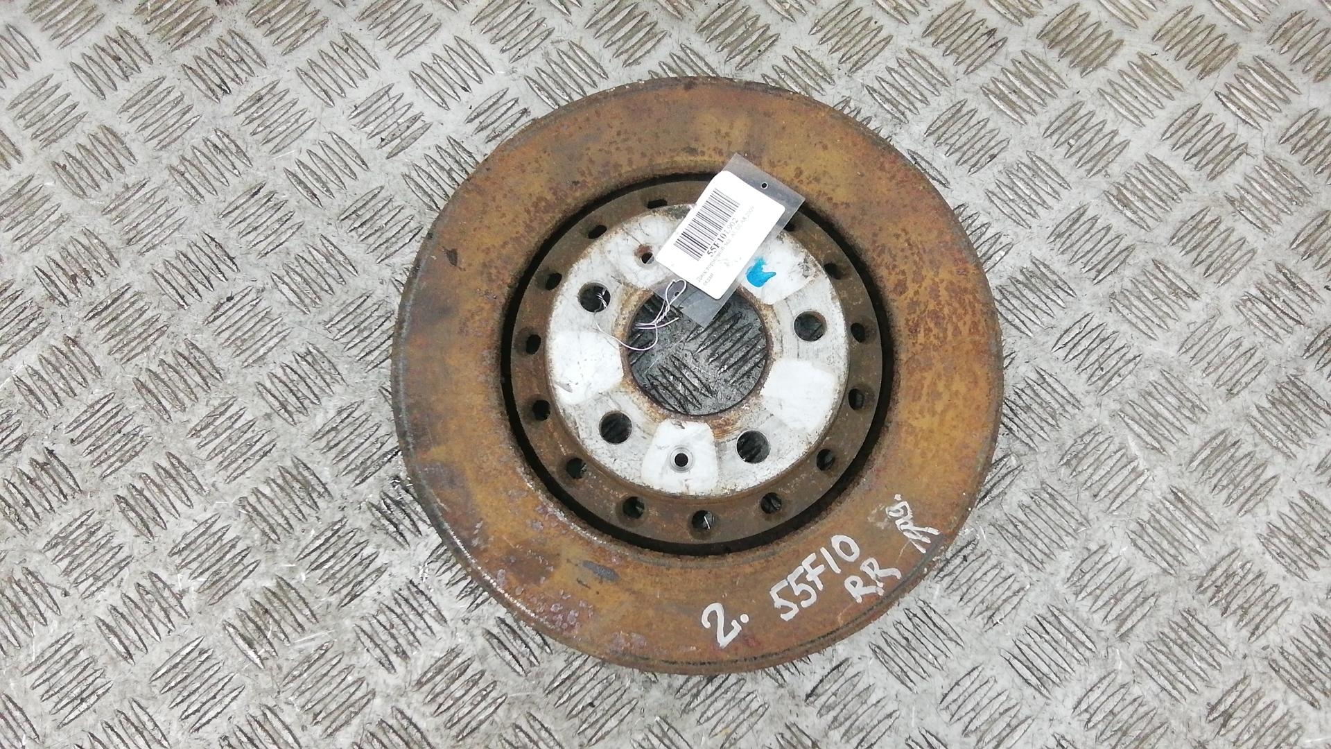 Диск тормозной задний, AUDI, A8 D3, 2009