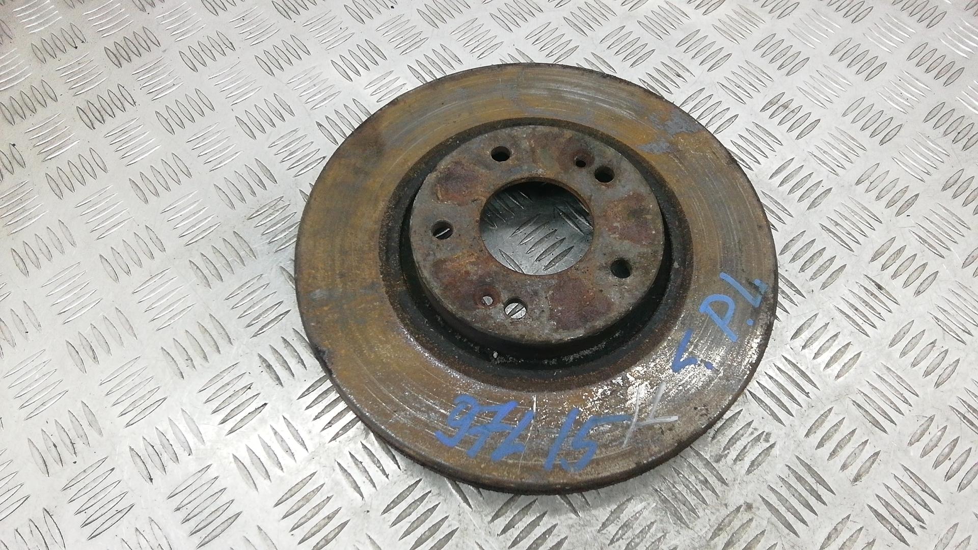 Диск тормозной передний, HYUNDAI, SONATA 5 (NF), 2006