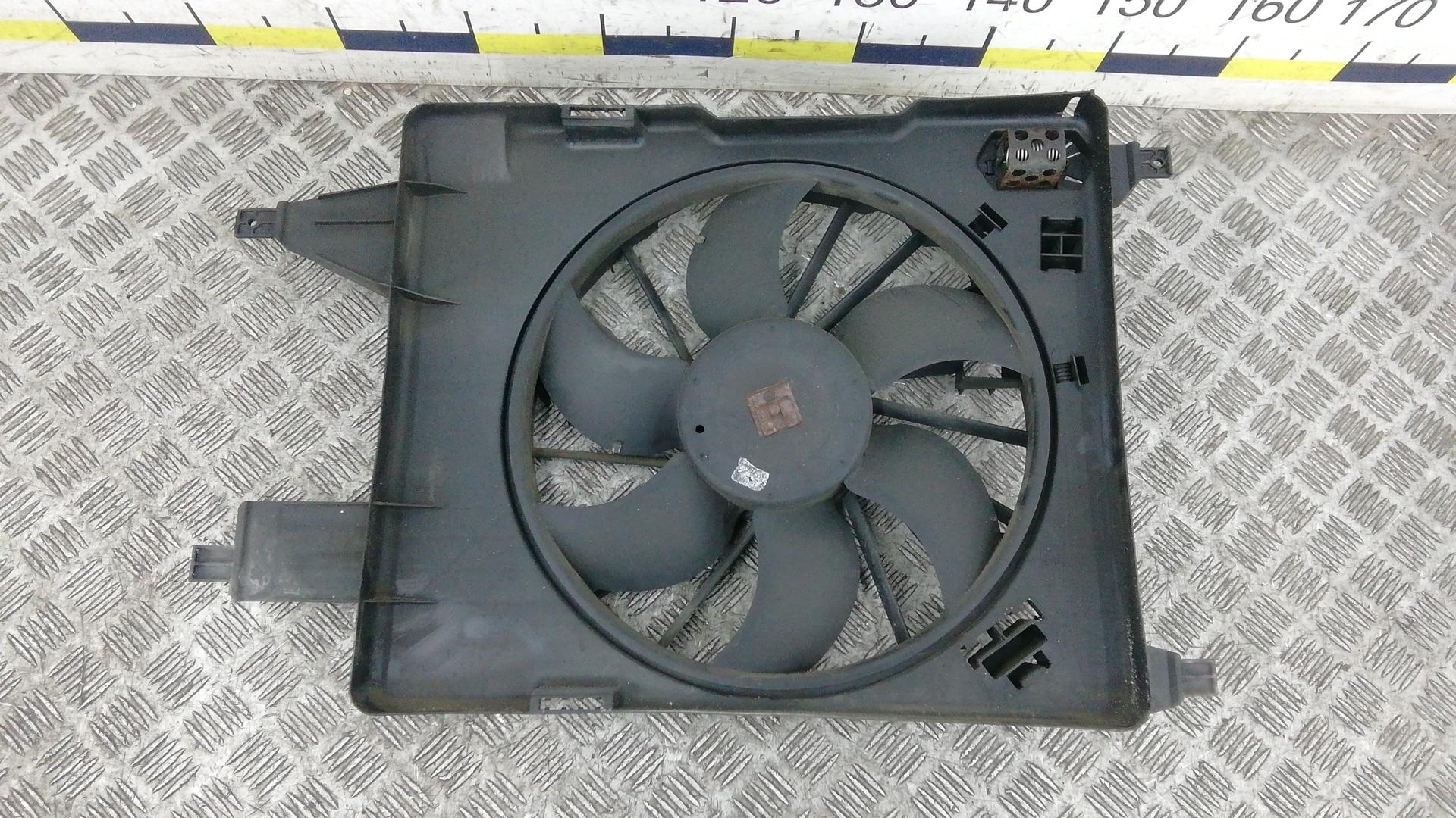 Вентилятор радиатора, RENAULT, MEGANE 2, 2004