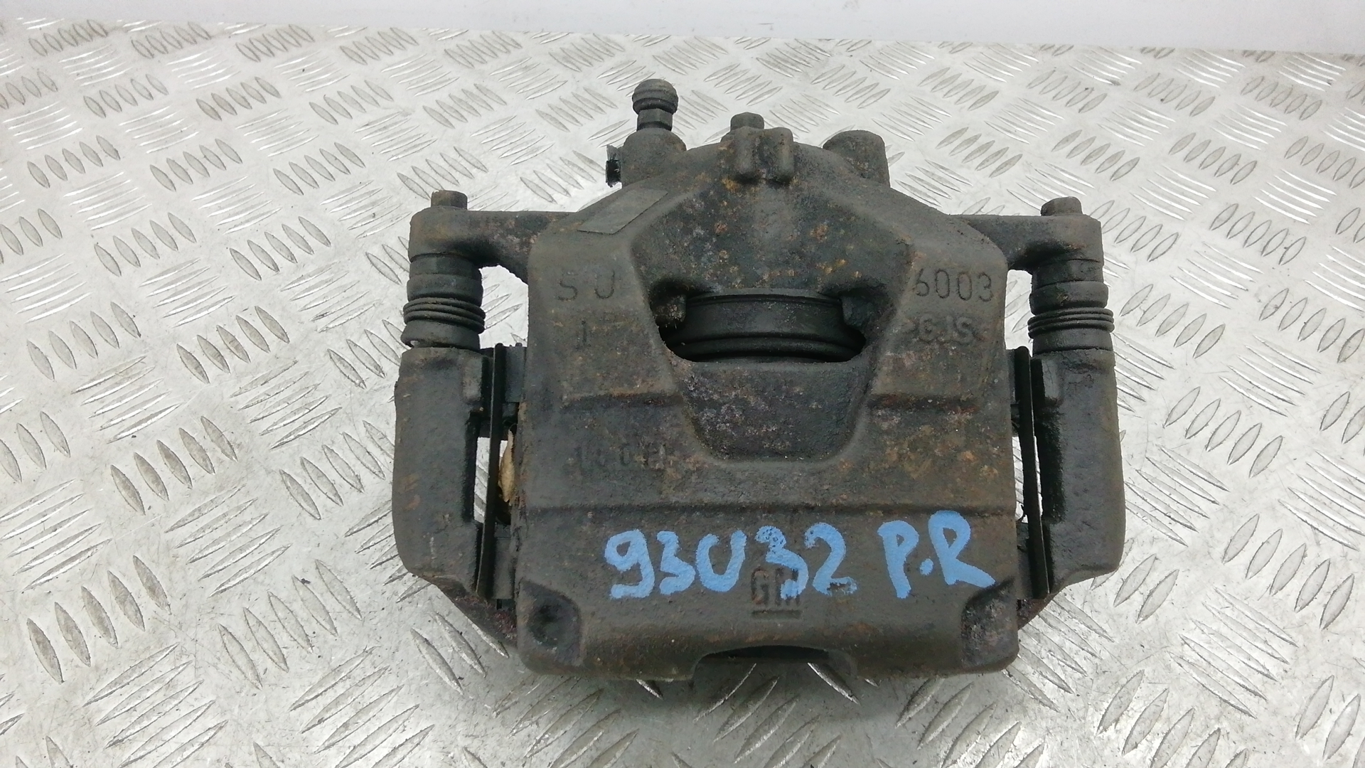 Суппорт тормозной передний правый, OPEL, ASTRA J, 2012