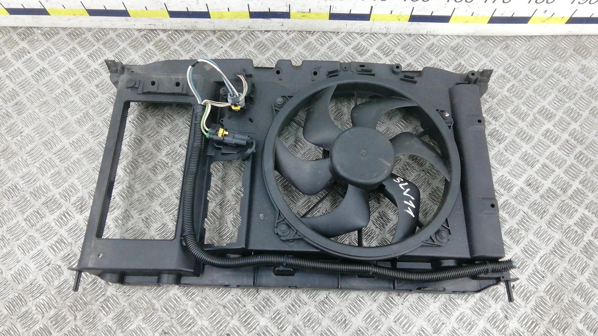 Вентилятор радиатора, CITROEN, C4 GRAND PICASSO 1, 2008