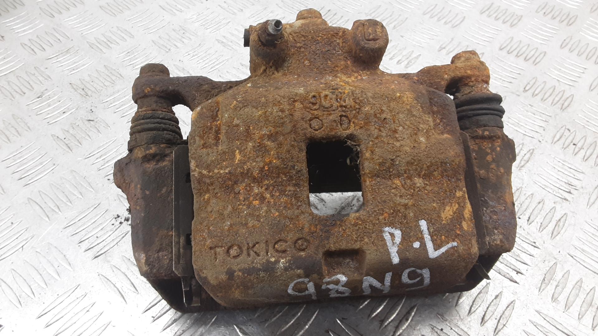 Суппорт тормозной передний левый, MITSUBISHI, L200 K4T, 2011