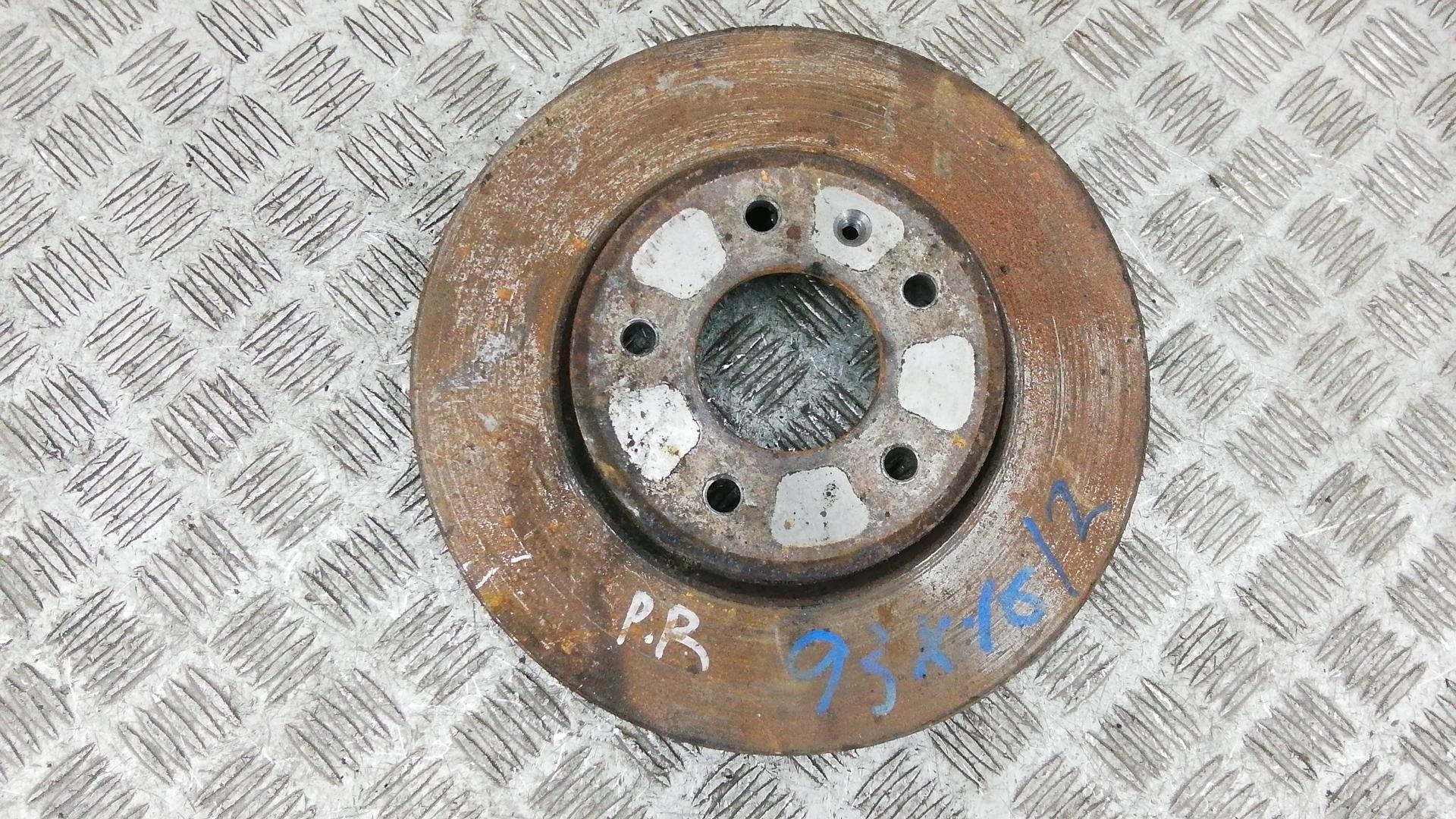 Диск тормозной передний, OPEL, ANTARA, 2007