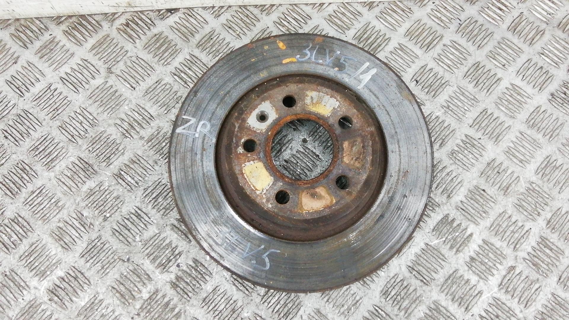 Диск тормозной задний, AUDI, A4 B8, 2008