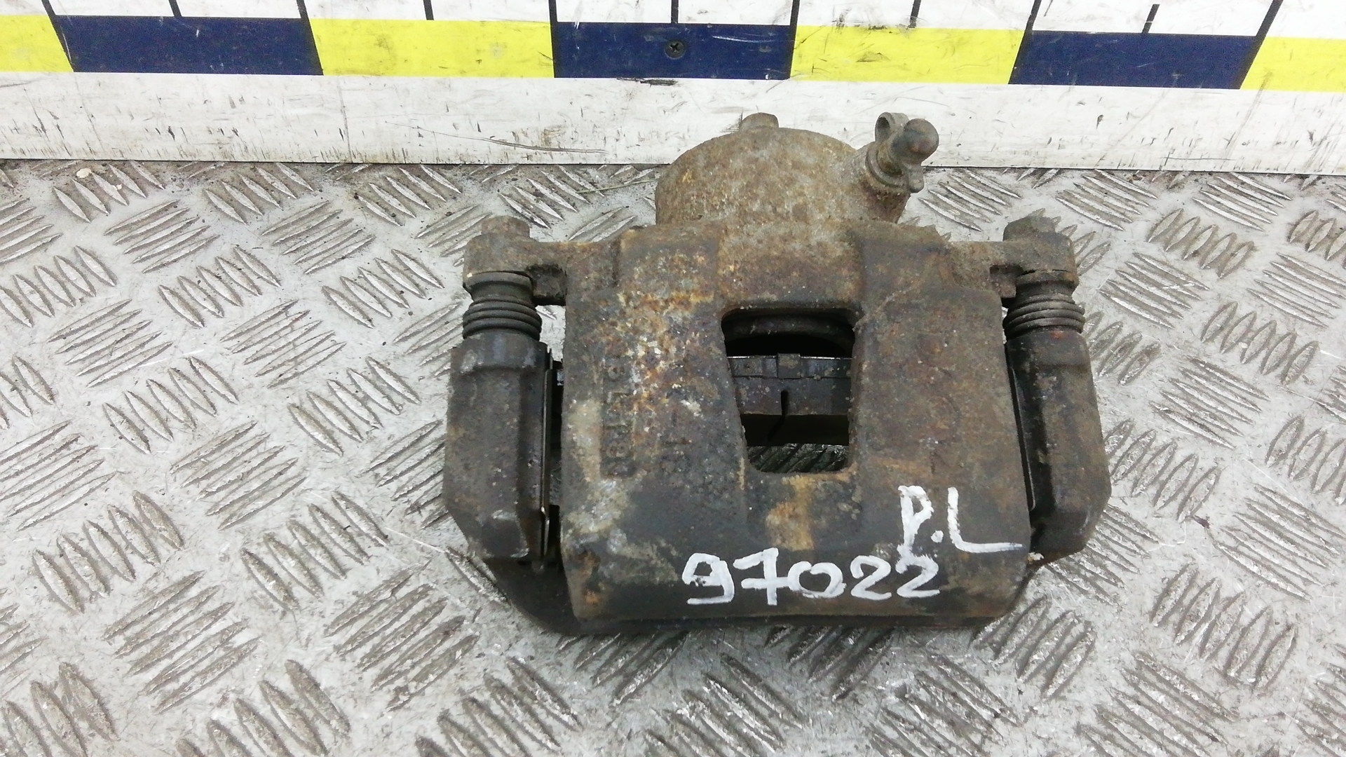 Суппорт тормозной передний левый, CHEVROLET, LACETTI, 2007