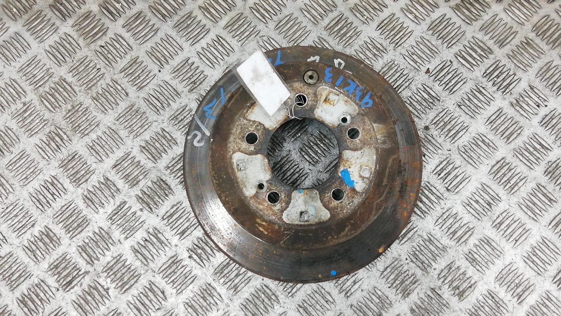 Диск тормозной задний, HYUNDAI, SANTA FE 1, 2005