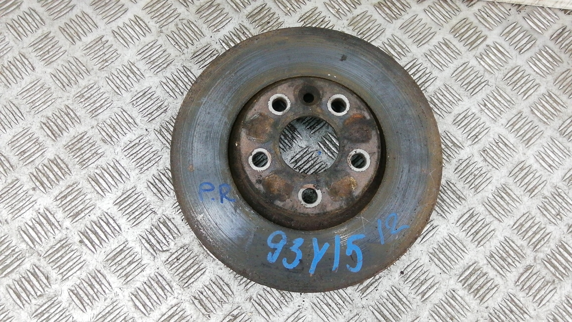 Диск тормозной передний, FORD, S-MAX, 2009