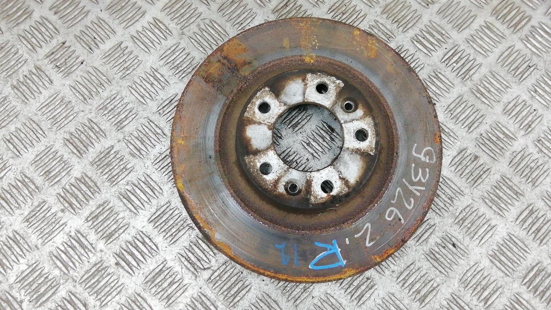 Диск тормозной задний, PEUGEOT, 407, 2007