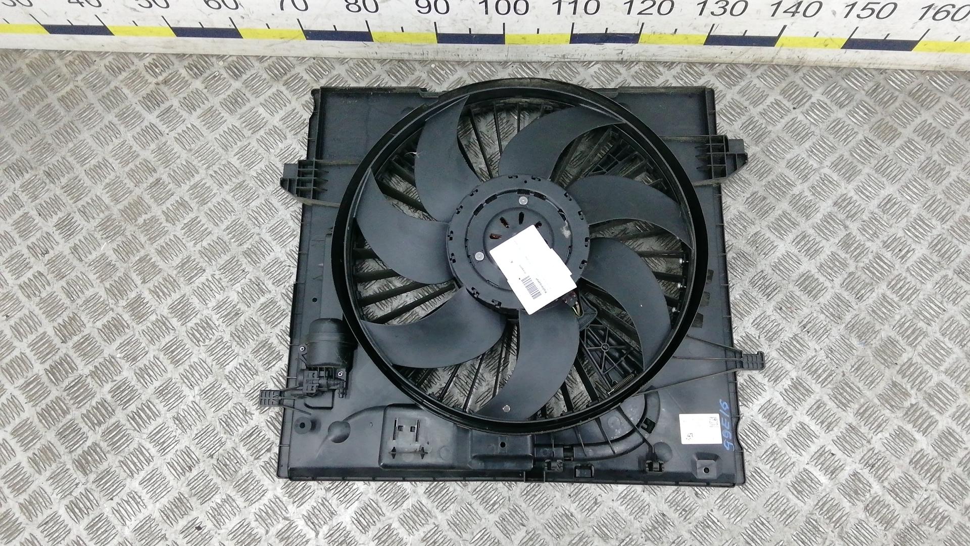 Вентилятор радиатора, MERCEDES BENZ, GLE W166, 2015