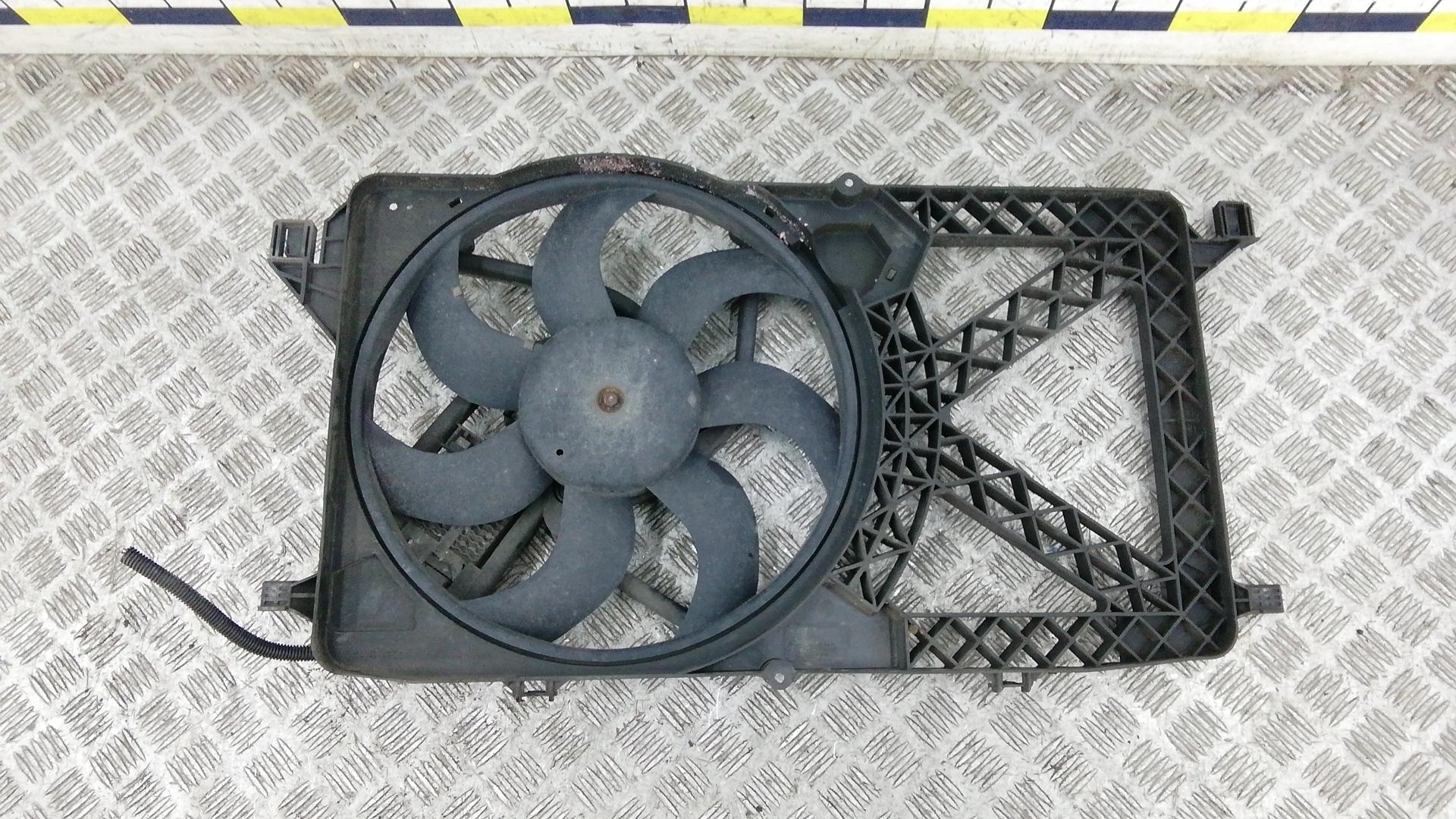 Вентилятор радиатора, FORD, TRANSIT 7, 2006