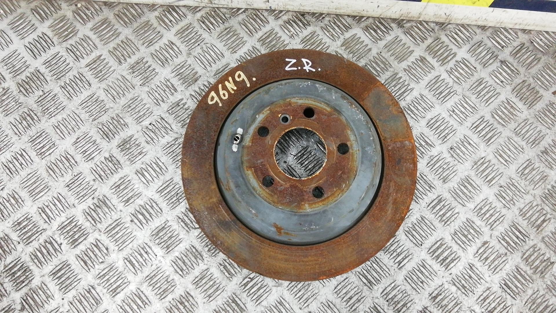 Диск тормозной задний, MERCEDES BENZ, M-CLASS W164, 2005