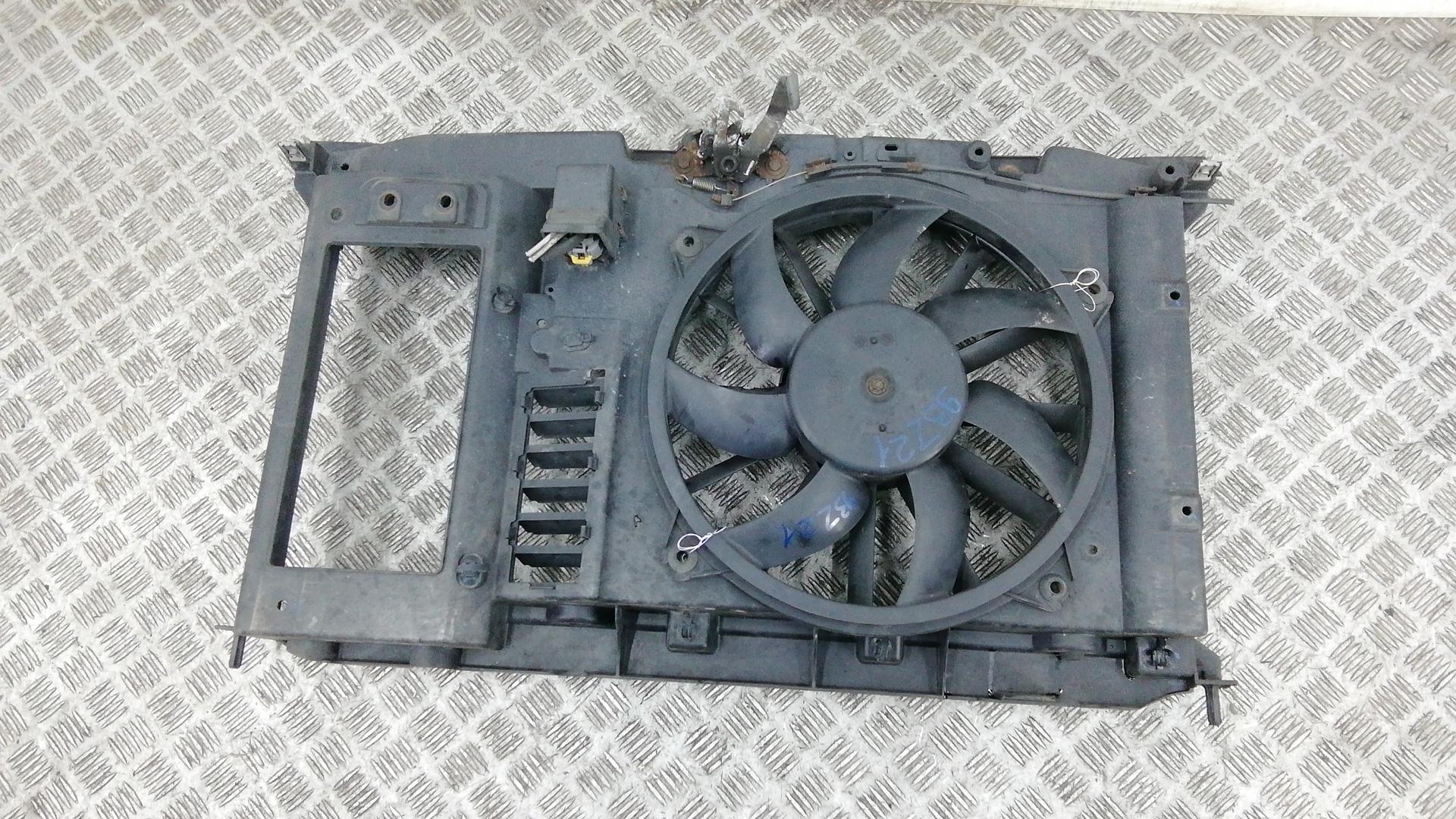 Вентилятор радиатора, PEUGEOT, 307, 2007