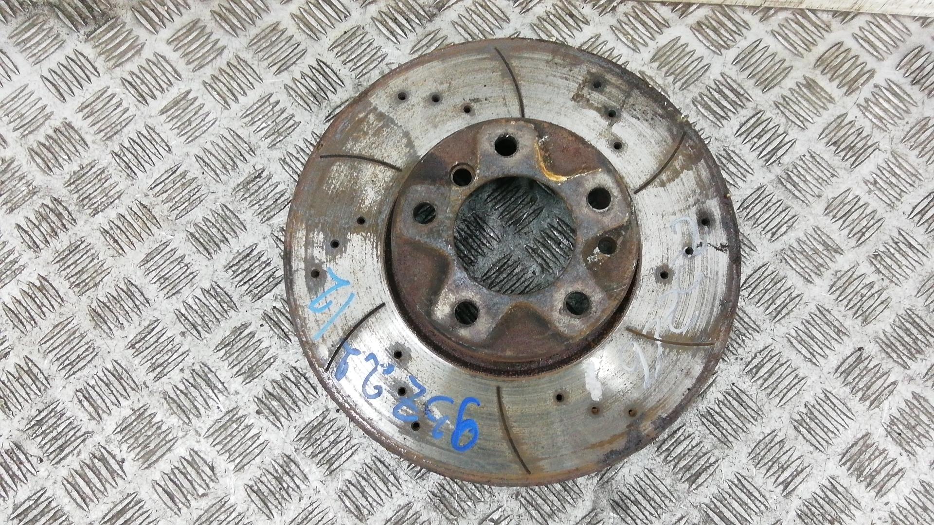 Диск тормозной передний, BMW, 5 E39, 2003