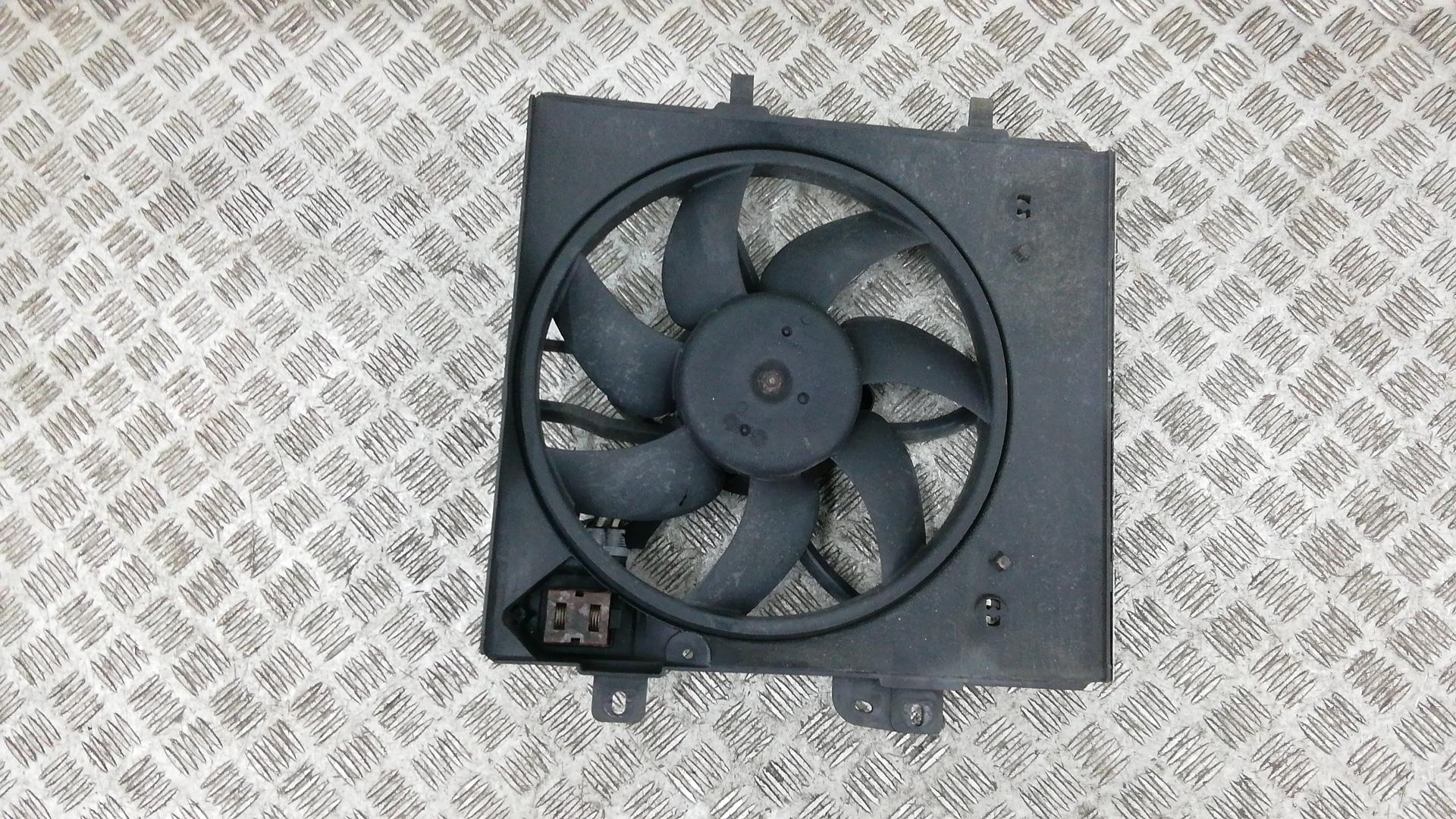 Вентилятор радиатора, CITROEN, C3 2, 2010