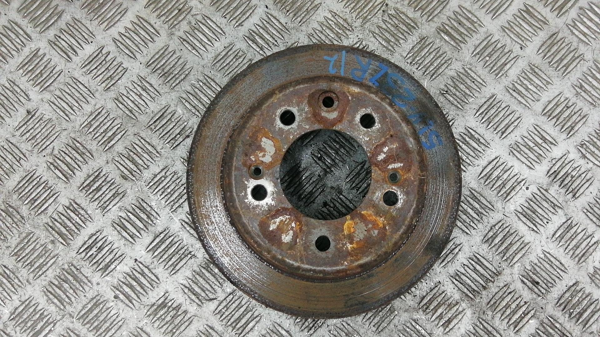 Диск тормозной задний, HYUNDAI, I30 FD, 2011