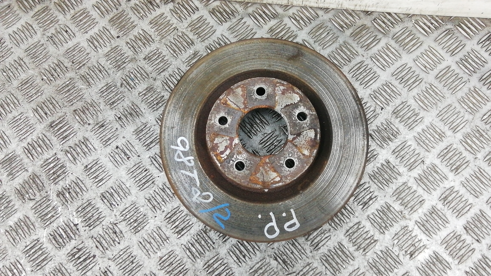 Диск тормозной передний, NISSAN, X-TRAIL T31, 2008
