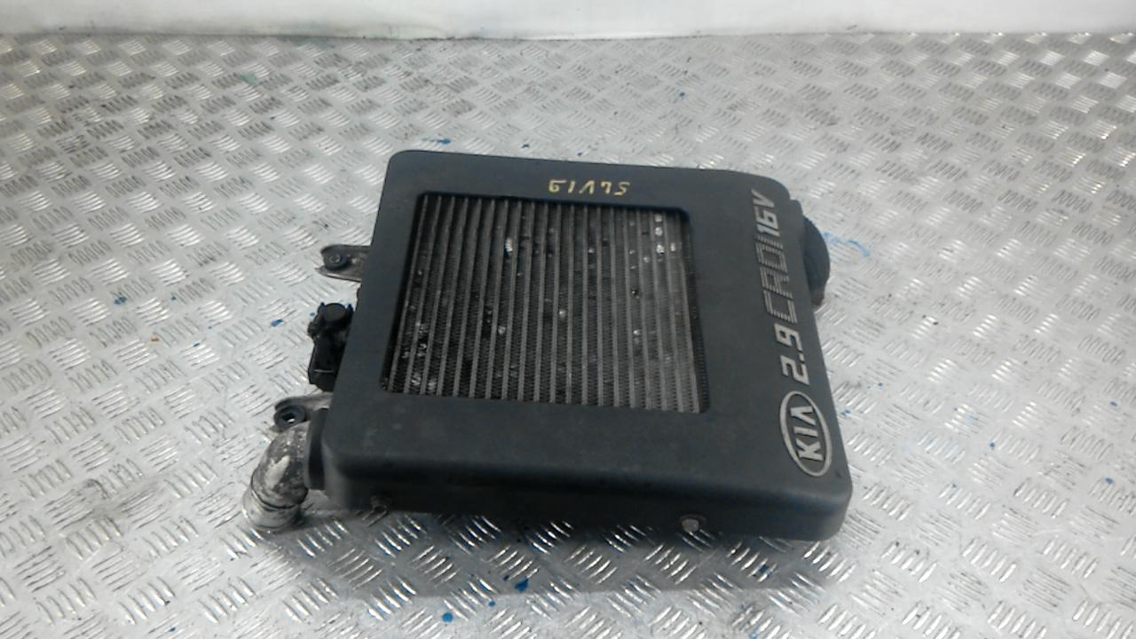 Радиатор интеркулера, KIA, CARNIVAL 1, 2005