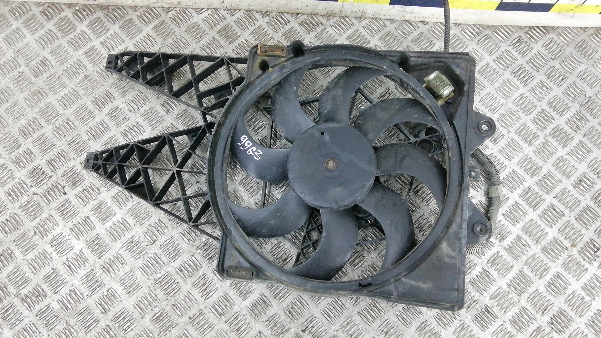 Вентилятор радиатора, LANCIA, DELTA 3, 2008
