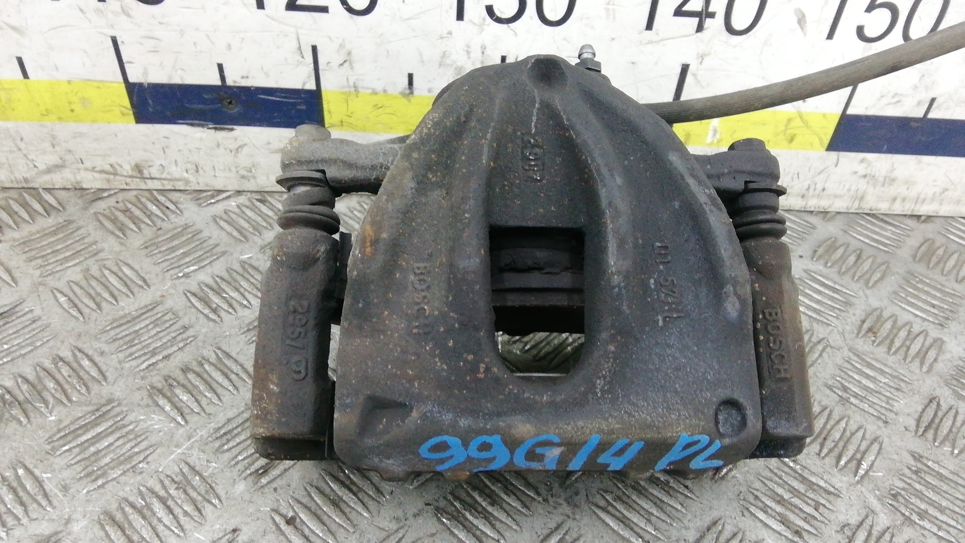 Суппорт тормозной передний левый, TOYOTA, COROLLA VERSO 2, 2008